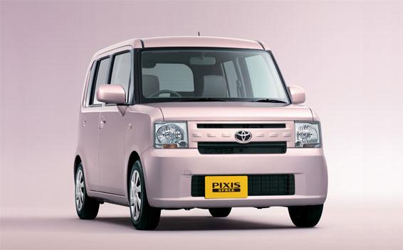 Toyota PIXIS SPACE L CVT 0.66 (2013)