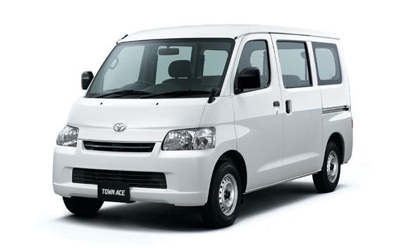 Toyota Townace Van GL 5PASS MT 1.5 (2012)