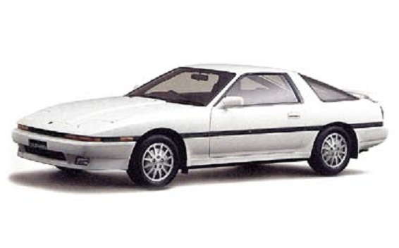 Toyota Supra 3.0GT TURBO AT 3.0 (1986)