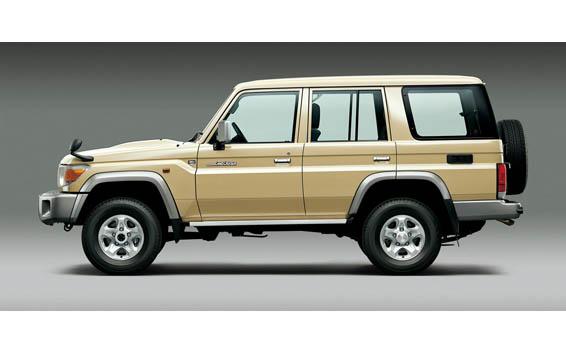 Toyota Landcruiser 70 3