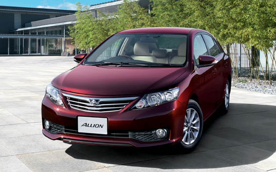 Toyota Allion A15 G PACKAGE CVT 1.5 (2014)
