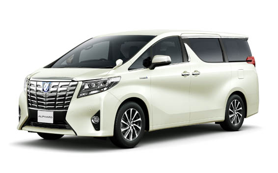 Toyota Alphard Hybrid HYBRID SR SIDE LIFT UP SEAT 7PASS 4WD CVT 2.5 (2015)