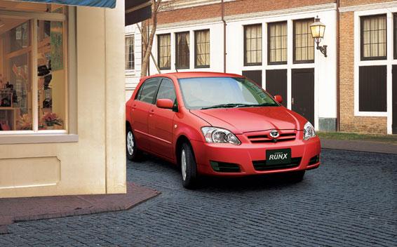 Toyota Corolla Runx 4