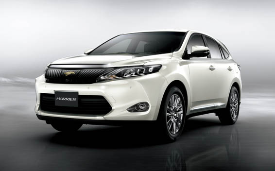 Toyota Harrier PREMIUM ADVANCED PACKAGE CVT 2.0 (2015)