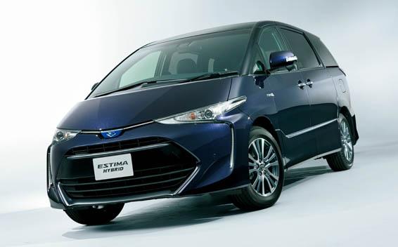 Toyota Estima Hybrid 1