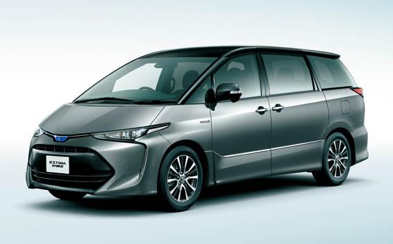 Toyota Estima Hybrid 2