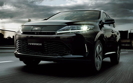 Toyota Harrier PROGRESS METAL AND LEATHER PACKAGE 4WD CVT 2.0 (2017)