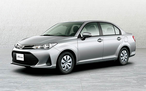 Toyota Corolla Axio 1.5X BUSINESS PACKAGE CVT 1.5 (2017)