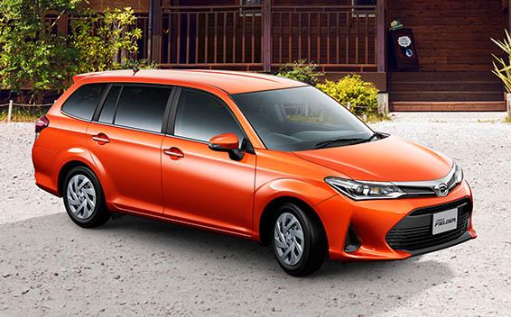 Toyota Corolla Fielder 1