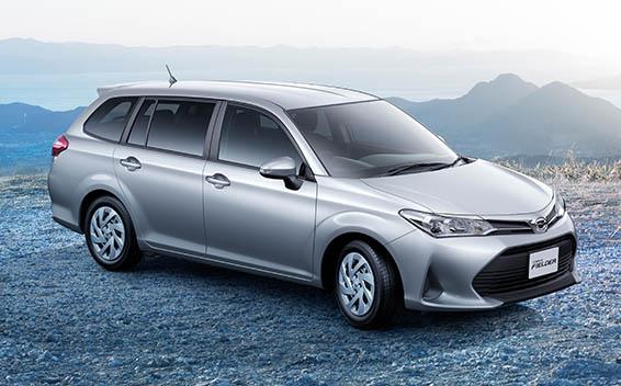 Toyota Corolla Fielder 3