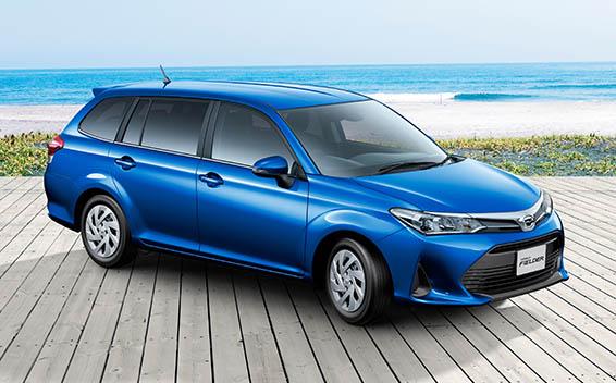 Toyota Corolla Fielder 4