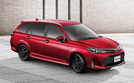 Toyota Corolla Fielder 5
