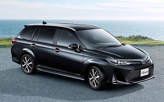 Toyota Corolla Fielder 6