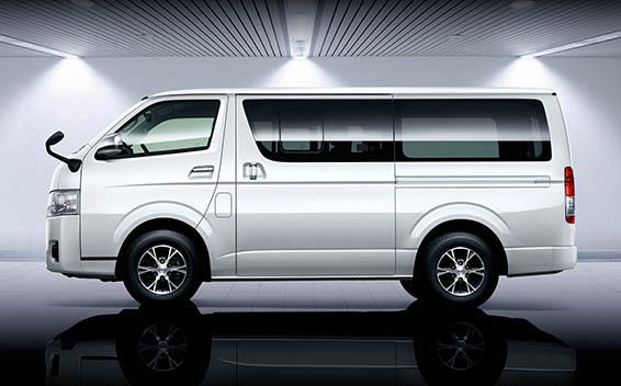 Toyota Hiace Van 2