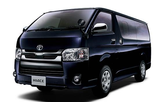 Toyota Hiace Van 16
