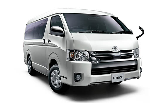 Toyota Hiace Van 17