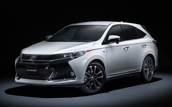 Toyota Harrier PROGRESS STYLE BLUEISH AT 2.0 TURBO (2018)