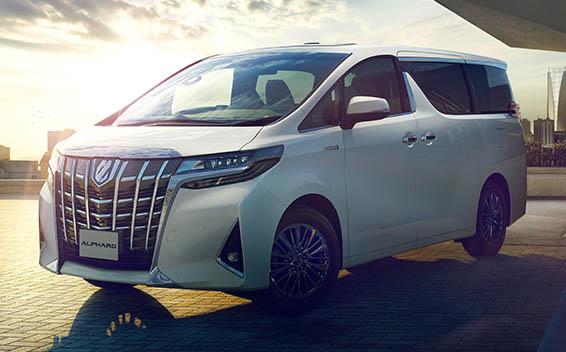 Toyota Alphard Hybrid 1