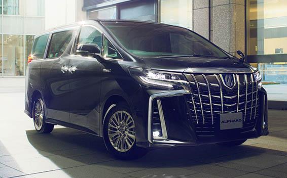 Toyota Alphard Hybrid 4