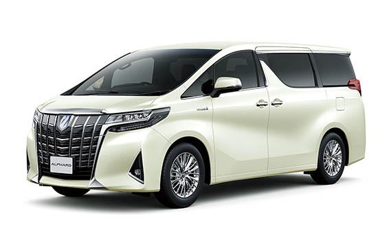 Toyota Alphard Hybrid 5