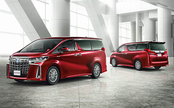 Toyota Alphard Hybrid 7