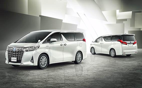 Toyota Alphard Hybrid 8