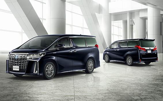 Toyota Alphard Hybrid 10