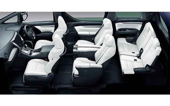 Toyota Alphard Hybrid 16