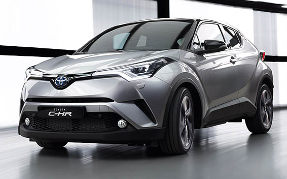 מאוד Toyota C-HR:Price. Reviews. Specifications. | Japanese Vehicles UI-44