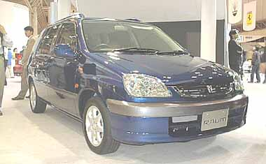 Toyota Raum SEPARATE DECK C PACKAGE AT 5PASS (2001)