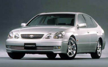 Toyota Aristo S300 10TH ANNIVERSARY EDITION AT (2001)