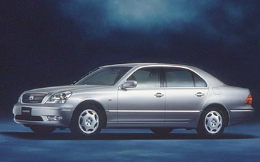 Toyota Celsior B VERSION ER VERSION AT (2000)