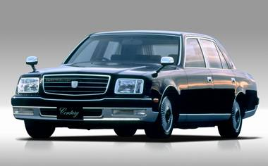 Toyota Century DUAL EMV PACKAGE CORUMN AT (1997)