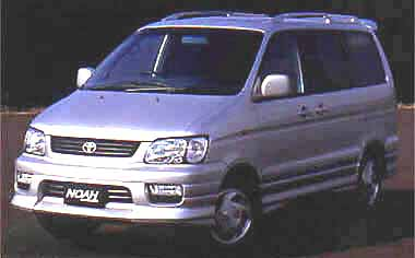 Toyota Liteace Noah FEELD TOURER STANDARD ROOF 4WD AT 2.2D 8PASS (2001)