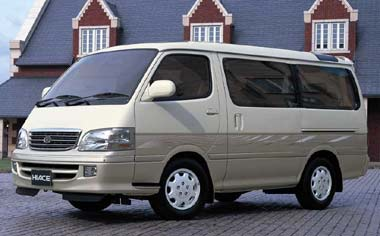 Toyota Hiace Wagon GRAND CABIN G-E4WD AT 3.0 DIESEL 10PASS SUPER LONG (1999)