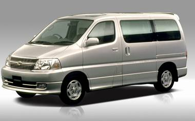 Toyota Granvia G4WD 4DOORS AT 3.0 D 8PASS (1999)