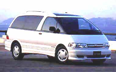 Toyota Estima V TWIN MOONROOF4WD AT 2.4 8PASS (1998)