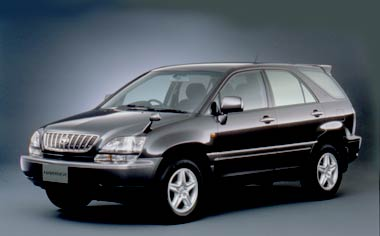 Toyota Harrier HARRIER 3.0 FOUR IR VERSION 4WD AT (2000)