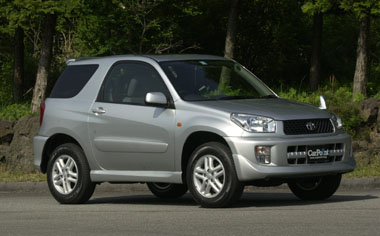 Toyota RAV4 J X G PACKAGE AT 1.8 5DOOR (2001)