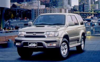 Toyota Hilux Surf SSR-V AT 2.7 (2001)