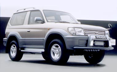 Toyota Land Cruiser Prado CRAWLER WIDE BODY 4WD 5 DOOR AT 3.4 8PASS (2000)