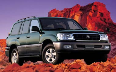 Toyota Land Cruiser ACTIVEVACATION B VX LTD 4WD(AT) (2000)