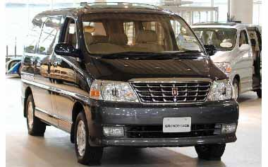 Toyota Grand Hiace G PRIME SELECT 5DOOR AT 3.0DIESEL 8PASS (2000)