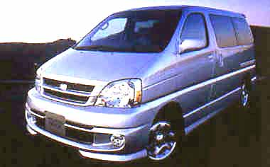 Toyota Touring Hiace EXTRA V PACKAGE 4WD AT 3.0 DIESEL (2000)