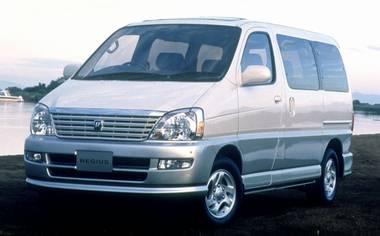 Toyota Regius Wagon WIND TOURER L PACKAGE 4WD AT 3.0DIESEL 8PASS (1999)