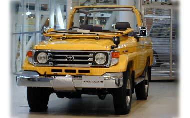 Toyota Landcruiser 70 ZX 4WD MT 4.2 DIESEL 4DOOR (2000)