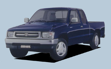 Toyota Hilux Sports Pickup EXTRACAB WIDEBODY 4WD MT 3.0DIESEL (2000)