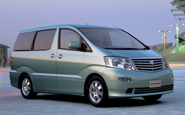 Toyota Alphard V MX J EDITION AT 3.0 8PASS (2002)