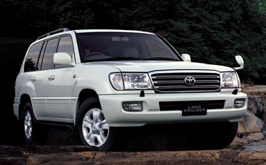 Toyota Land Cruiser VAN VX LIMITED G SELECTION 4WD AT 4.2DIESEL (2002)