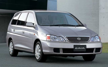 Toyota Gaia GAIA G PACKAGE 4WD AT 2.0 7PASS (2002)